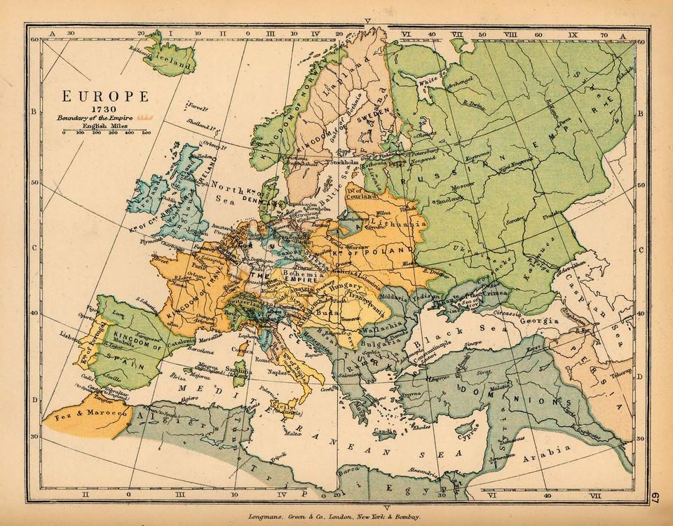 18e eeuw - Sectie geschiedenis Sint-Janslyceum