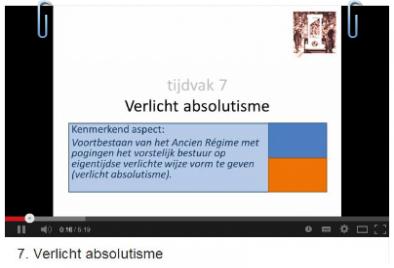 Verlicht absolutisme - Sectie geschiedenis Sint-Janslyceum
